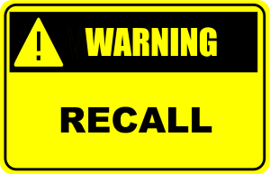 Recall warning