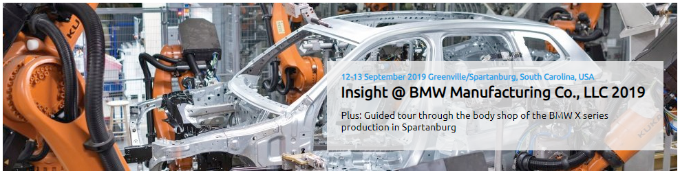 Insight @ BMW Manufacturing Event