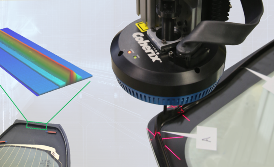 GlassMaster Pro for Urethane Bead Inspection
